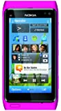 Nokia N8 Unlocked GSM Touchscreen Phone Featuring GPS with Voice Navigation and 12 MP Camera(Pink)