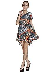 Meiro High Quality Women's peplum Dress , designed in New York