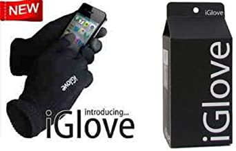 Iglove Unisex Touch Screen Knit Glove Hand Warm for Iphone Ipad Blackberry Samsung HTC and Other Smartphones PDA (One Size)