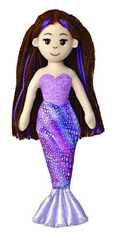 """Aurora World Merrisa Mermaid 10"""" Plush - 1"""