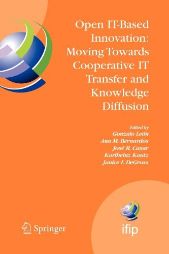 Open IT-Based Innovation: Moving Towards Cooperative IT Transfer and Knowledge Diffusion: IFIP TC 8 WG 8.6 International Working Conference, October ... in Information and Communication Technology)