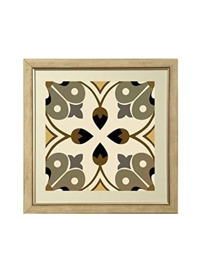 Art Source Gold Geometric Print I, Multi