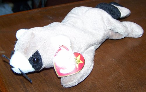 Ty Beanie Babies - Ringo the Racoon - 1