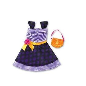Purplerific Dress Groovy Girls Fashions Valentine's Day Doll Clothes