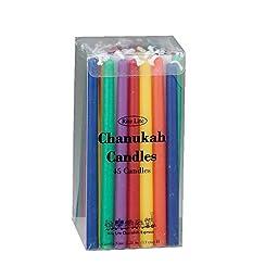 Rite Lite LTD Deluxe Multicolor Chanukah Candles