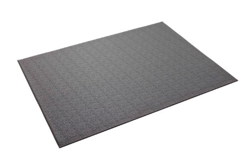 Supermats Heavy Duty P.V.C. Mat for Treadmills/Ski Machine (3-Feet x 6.5-Feet, Gray)