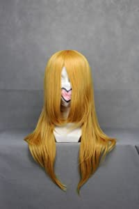 Ruler Final Fantasy-stella Nox Fleuret Golden Anime Cosplay Wig Many Roles Available