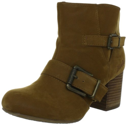 Blowfish Tarta Bootie BF2338 AU12, Stivaletti donna, Marrone (Braun (earth fawn PU BF223)), 36