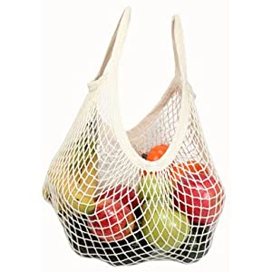 Eco Bags - Organic Cotton String Bag- Tote