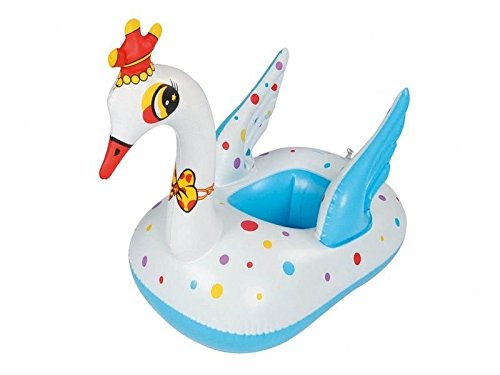 New Shop New Swan Kid Baby Infant Inflatable Swimming Float Seat Boat Pool Water Fun front-965323