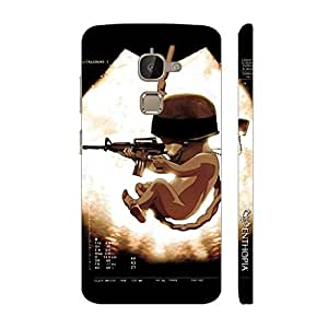Enthopia Designer Hardshell Case SOLDIER BABY Back Cover for Letv Le 2s