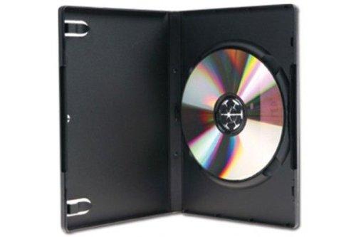 Mediapack DVD Box Standard, schwarz, für je eine DVD