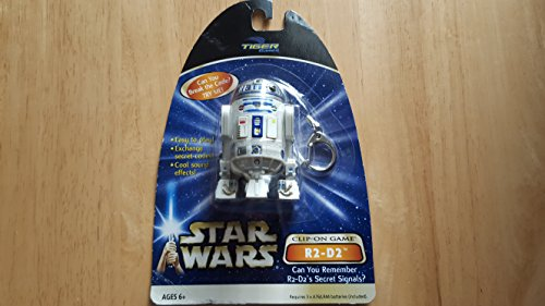 TIGER GAMES STAR WARS CLIP ON GAME R2-D2 DROID COLLECTIBLE
