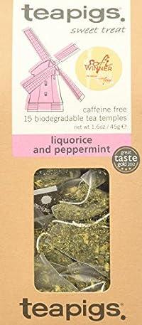 Teapigs Whole Leaf Tea (Liquorice & Mint, 15 temples)