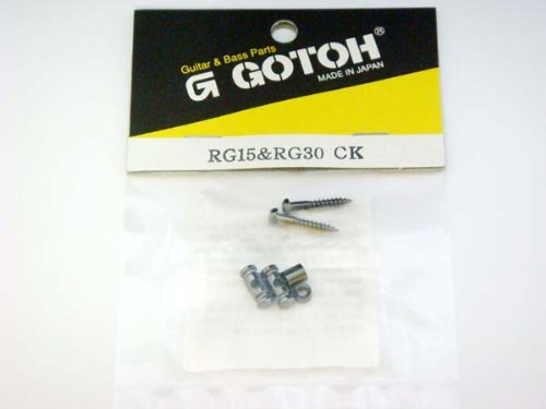 Mij G.Gotoh Barrel String Guide Set For Guitar Black