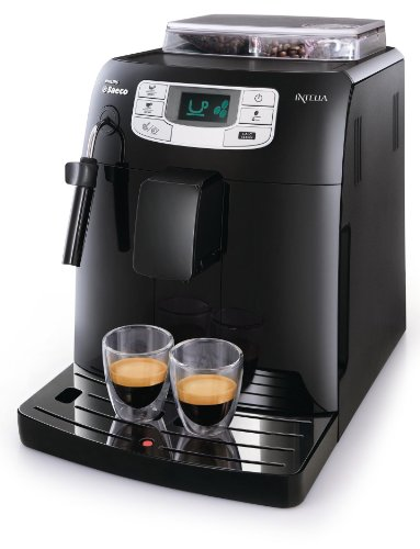 Saeco HD8751/11 Machine à Espresso Intelia Focus Black
