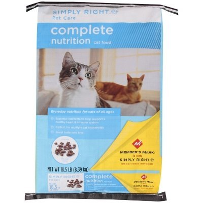 Simply Right Pet Care Complete Nutrition Cat Food - 18.5 Lb.