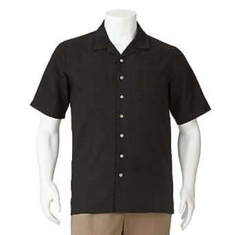 Batik bay floral textured casual button down shirt big for Men s batik bay silk blend button down shirt