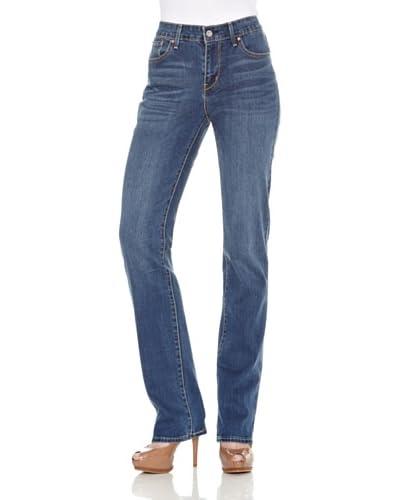 Levi's Jeans Classic Demi Curve ID Straight [Downpour]
