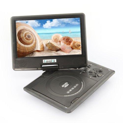 DB Power 9.5Inch Portable DVD Player, USB Radio Games 180 Swivel LCD MP3 MPEG4 RMVB (black) at Sears.com