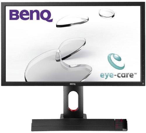 BenQ XL2420T 24 inch Widescreen LED Multimedia Monitor (VGA, DVI-D, 1920x1080, 2ms,  2x HDMI, Game Mode Loader, Black eQualizer)