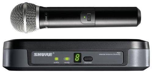 Shure PG24E/PG58 UHF handheld radio mic system (PG24UK/PG58)