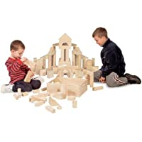 Melissa & Doug 503 60-Piece Wooden Block Set