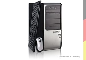 VCM Pontos 2 Desktop-PC (Intel Core 2 Quad Q9505 2.8GHz, 4GB RAM, 1000GB HDD, nVidia GTS250 1024MB, DVD, Win 7 HP)