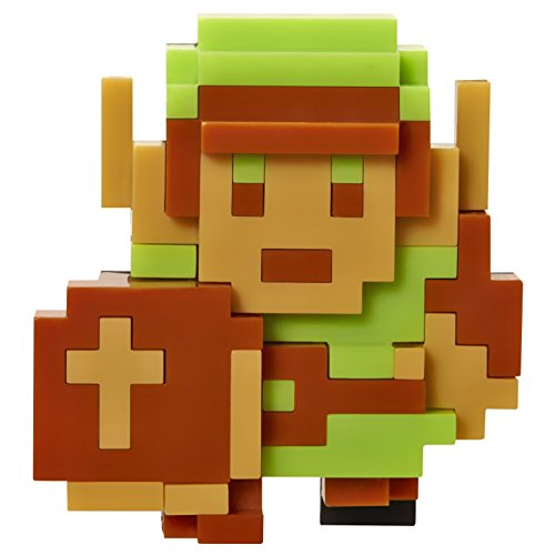 "World of Nintendo 2.5"" 8 Bit Link Action Figure(Discontinued by manufacturer)"