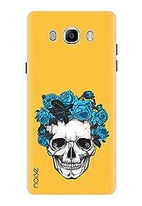 Noise Designer Printed Case / Cover for Samsung Galaxy On8 / Patterns & Ethnic / Flower Headband Skull Design
