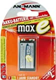 Ukdapper - Always Ready Rechargeable Size PP3 9V ANSMANN 9V 200mAh MaxE