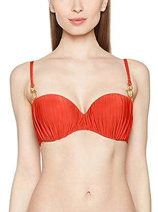 Chantelle Sujetador de Bikini (Naranja Oscuro)