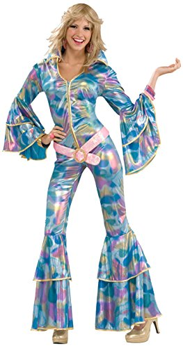 Forum Novelties Women's 70's Disco Fever Disco Mamma Costume
