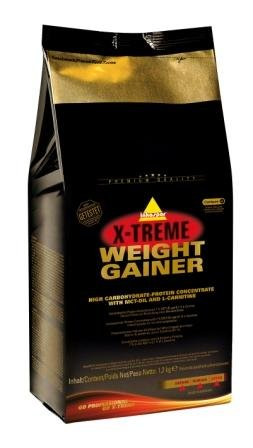 Inko X-treme Weight Gainer 2 x 1200g Beutel 2er Pack Vanille