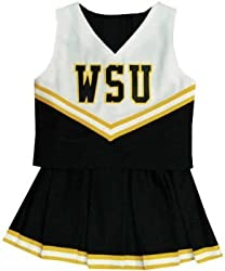 Wichita State Shockers Child Cheerdreamer Cheerleader Outfit/Uniform - NCAA College