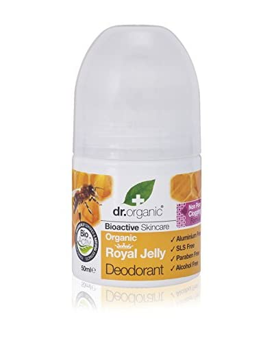 Dr Organic Desodorante Roll-On Royal Jelly 50 ml