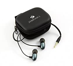 Zebronics EM-2 Stereo Earphones with Mic for All 3.5 mm Supported Mobile & Gadgets (Colors May Vary)