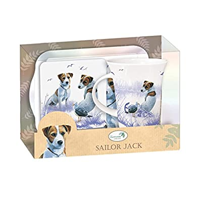 "Jack Russell ""Sailor Jack"" Teatime Gift Set"
