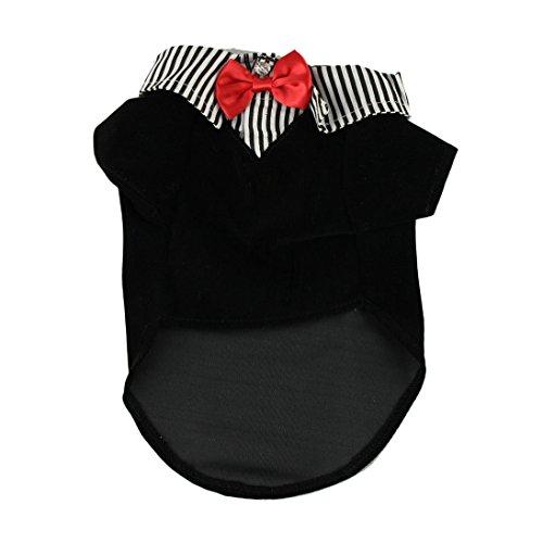 Dog Shirt, AutumnFall(TM) Fashion Puppy Pet Dog Clothes, Suit Bow Tie T-shirt, Coat, Costume