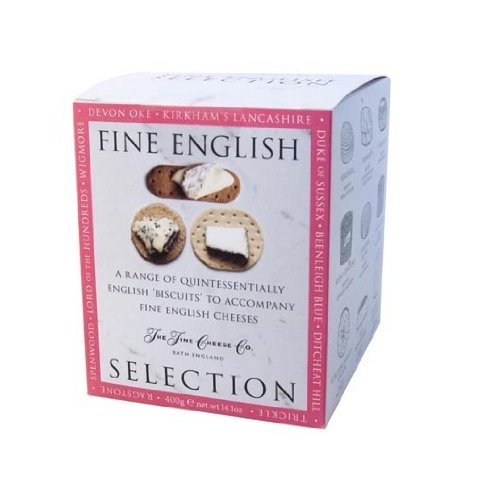 The Fine Cheese Co. Fine English Biscuits Selection Box 400 g