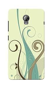KnapCase Abstract Designer 3D Printed Case Cover For Lenovo Vibe P1