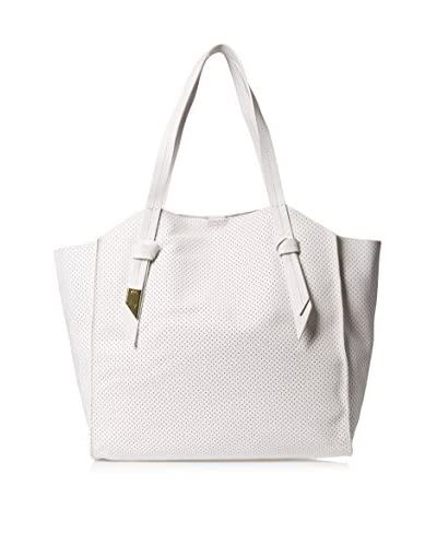 Foley + Corinna Women's Tye Tote Bag, White Perf