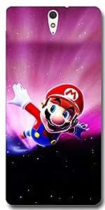Connexions Accessories Designer Back Cover For Sony Xperia C5-Multi Color