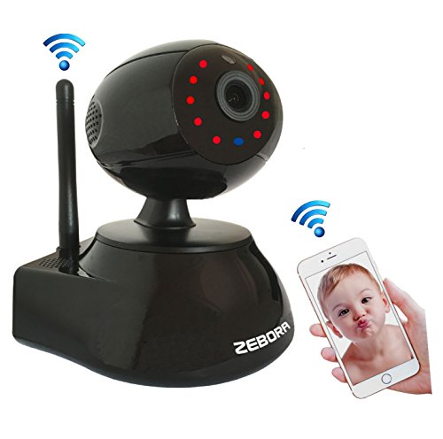 Baby Monitor, Super HD 960P Internet WiFi Wireless Network IP Security Surveillance Video Camera System, Pet and Nanny Monitor with Pan and Tilt, Two Way Audio & Night Vision