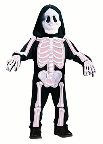 Pink Skeleton Toddler's Halloween Costume 3T to 4T (Toddler Scary Costumes)