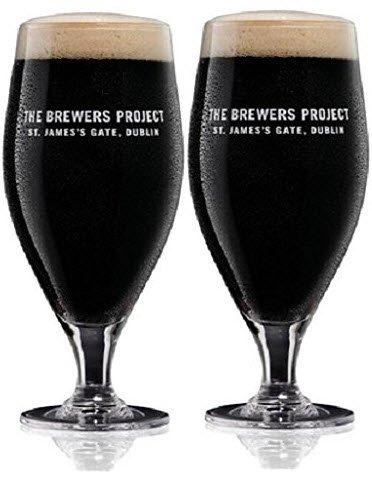 Guinness le projet Brewers édition limitée à 20oz en verre (Lot de 2)