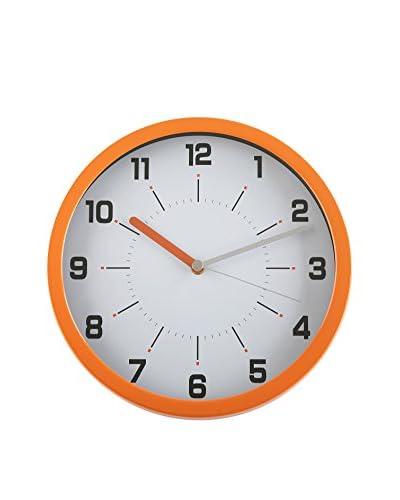 Zings Reloj De Pared Naranja