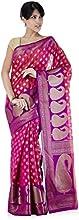 IndusDiva Cotton Benarasi Saree with Blouse Piece (VNS0510129)