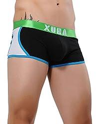Xuba Men's Cotton Trunk (XB1411211002_Black_S)