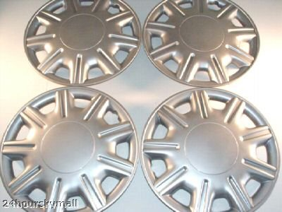 "15"" Set Of 4 Hubcaps Toyota Avalon Wheel Covers Design Are Universal Hub Caps Fit Most 15 Inch Wheels"
